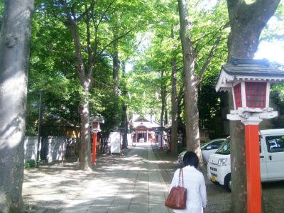 20150501 田無神社参拝2